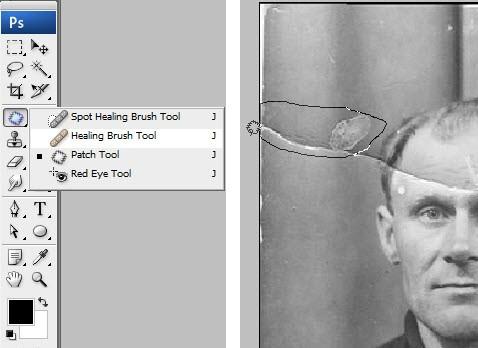 Профессиональная техника реставрации фотографии