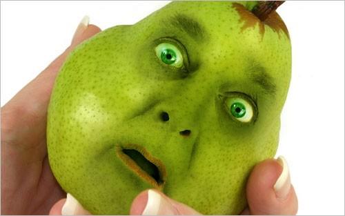 Создаем фрукт с человеческим лицом