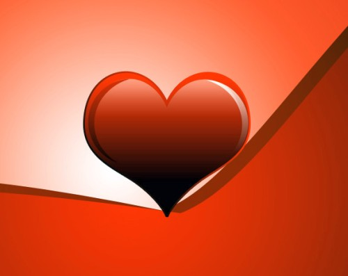 Создание романтической открытки на день святого Валентина