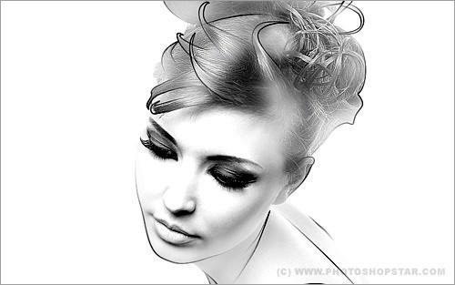 Создание эффекта рисунка на фото