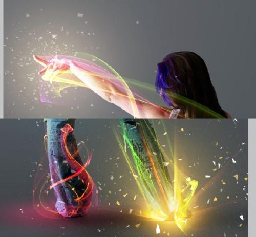 Коллаж «Покажи мне свет»