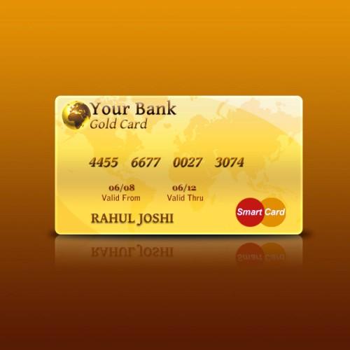 Создание кредитной карты