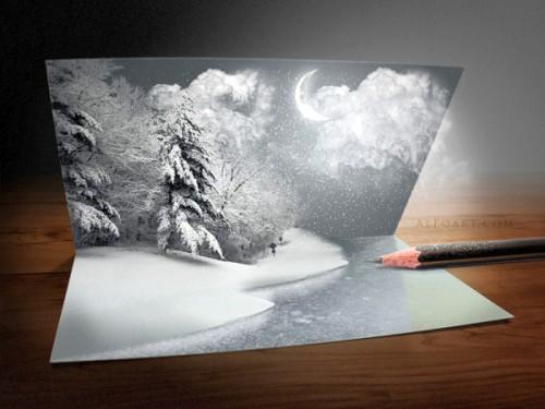 Создание Рождественской открытки