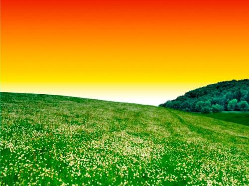 Создаём фотоманипуляцию с пейзажем в Фотошоп