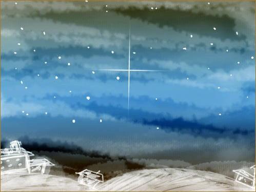Рисуем Рождественские обои в Фотошоп