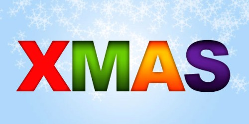 Создаем Рождественскую обертку