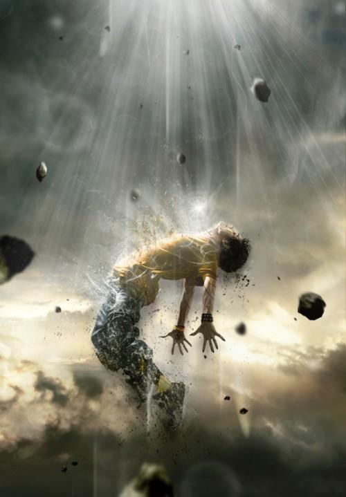 Создание мощного эффекта человеческого распада