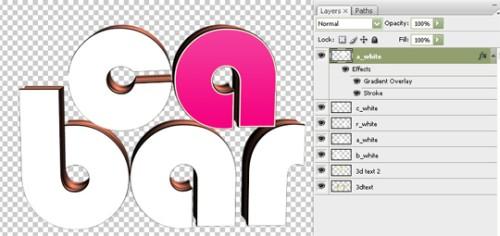 Создаем глянцевый 3D текст с использованием Xara 3D и Фотошоп