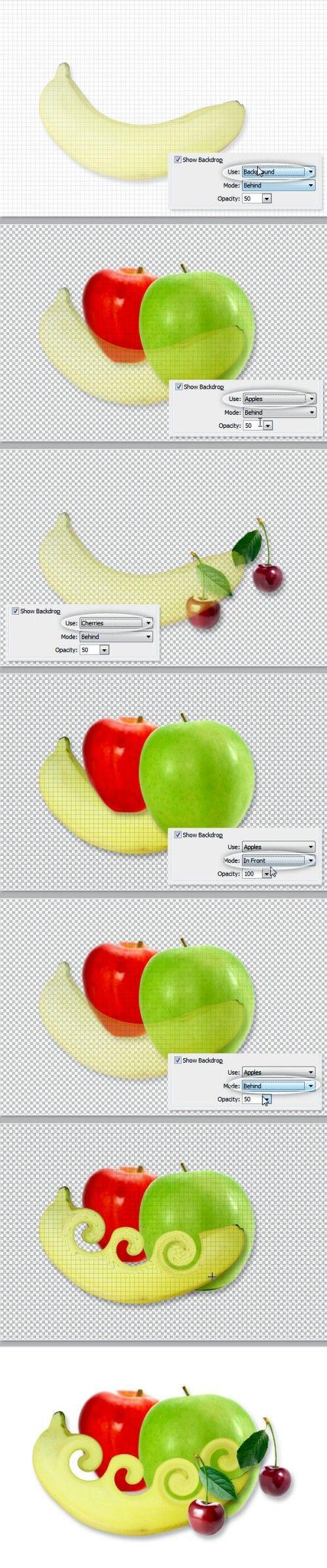 Фильтр Liquify (Пластика) в Фотошоп