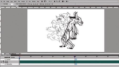 Создание рисованной мультипликации