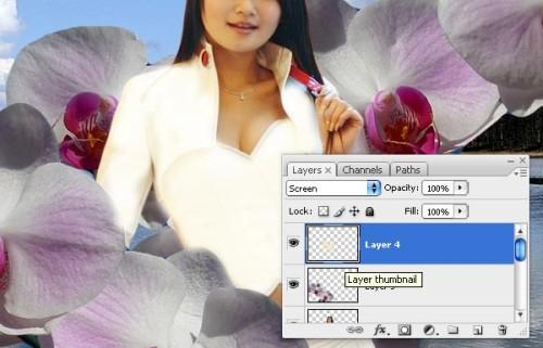 Дизайн для пригласительной в тайском стиле