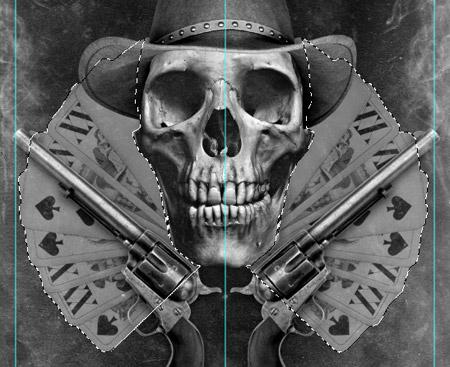 Гранжевый постер в стиле «Вестерн»