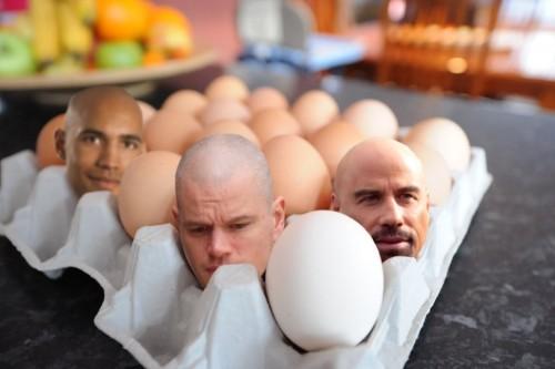 Головы в кассете для яиц