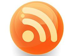 Глянцевый значок RSS