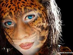 Девушка в коже ягуара