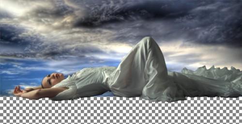 Фотоманипуляция «Фантастический пейзаж»