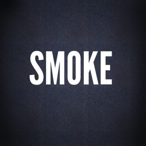 Текст из клубов дыма