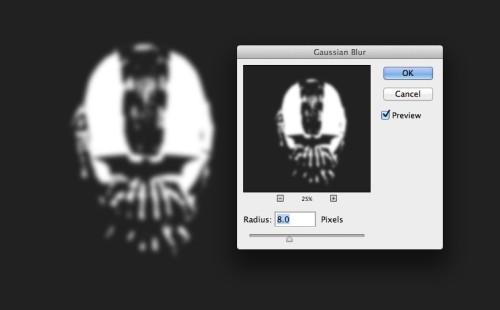 «Темный рыцарь Возрождение легенды» - трафаретный эффект в Фотошоп
