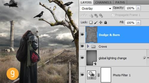 Постапокалиптическая иллюстрация в Фотошоп