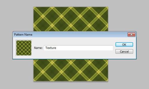 Текст из ткани