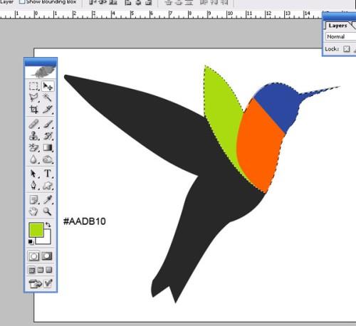 Рисуем колибри
