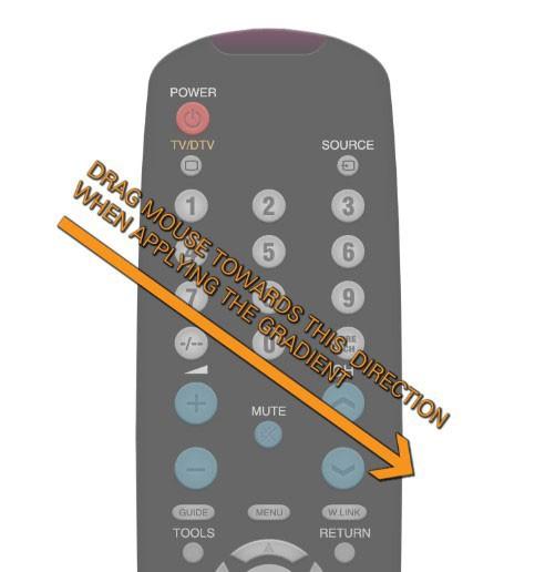 Реалистичный пульт для TV