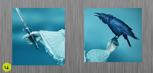 Фотоманипуляция «Поющий ворон»