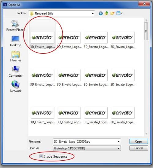 Анимированный логотип в Photoshop CS6