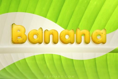 Банановый текст