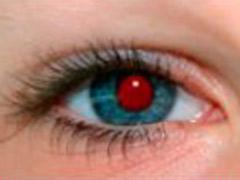 Как удалить эффект красных глаз