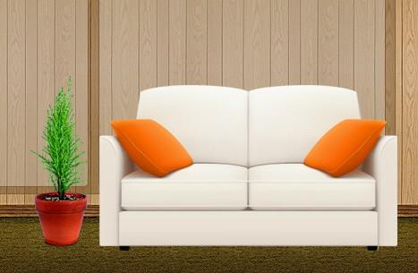 Фотореалистичный макет для сайта