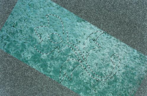 Объемный узор на камне в Фотошоп