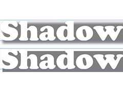 Стиль слоя Drop Shadow