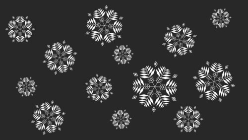 Рождественская ёлка с шарами