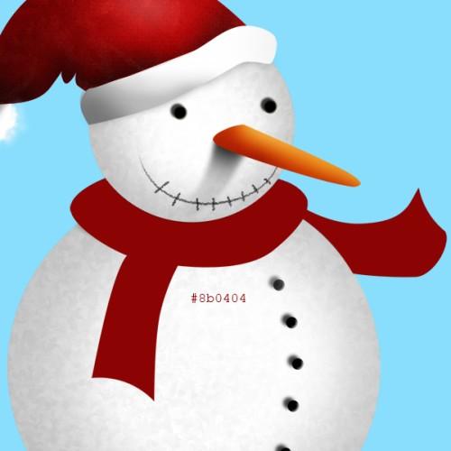 Анимация снегопада