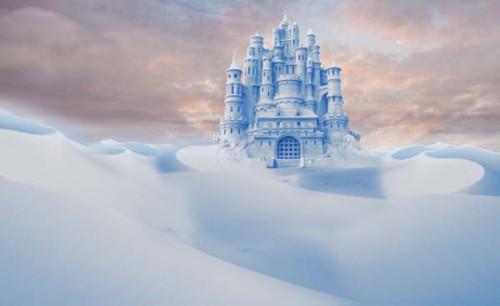 Фотоманипуляция на зимнюю тематику