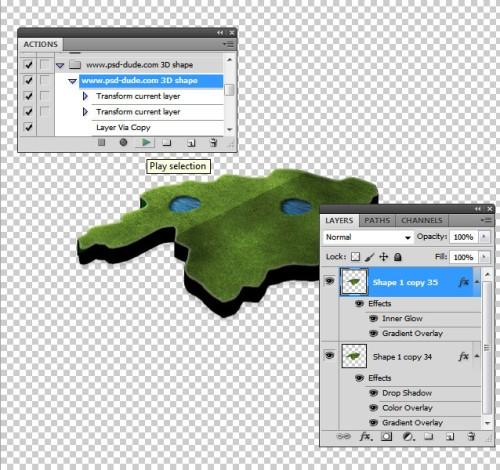 3D карта в Photoshop