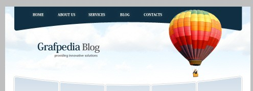 Создаём макет для бизнес сайта