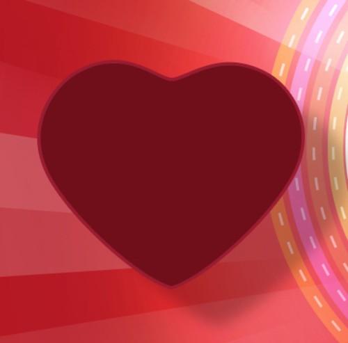 Поздравительная открытка в День Святого Валентина
