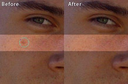 Идеальная кожа в Фотошоп