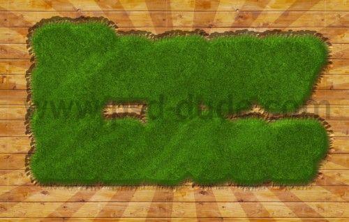 Дизайн пасхального постера в Фотошоп