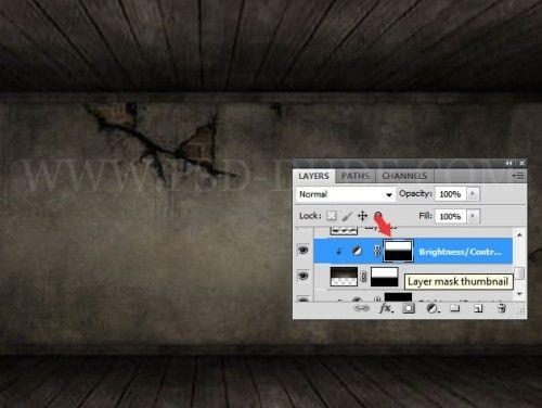 Винтажный деревянный 3D текст