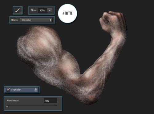 Рисуем мускулистую руку в Фотошоп
