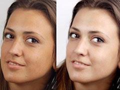 Разглаживание кожи без потери текстуры