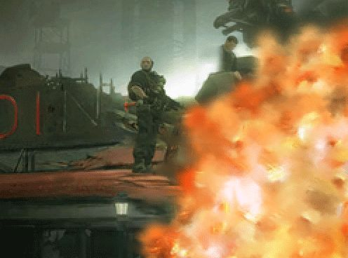 Рисуем взрыв в Фотошоп