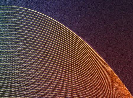 Зернистая абстракция в Фотошоп
