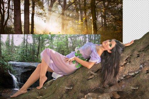 Романтичный портрет в тёплых тонах