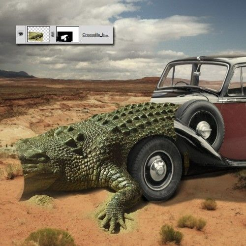 Создаём экзотический крокомобиль