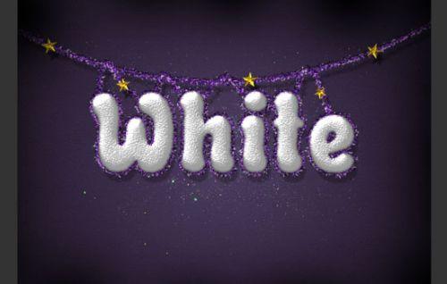 Снежный праздничный текст