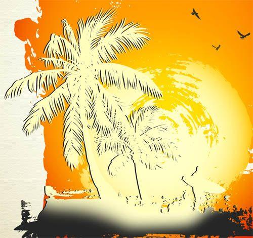 Тропический рай в Фотошоп